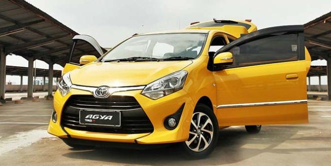 Boombastis Promo Toyota Agya Kredit DP kecil Cicilan Murah di jakarta